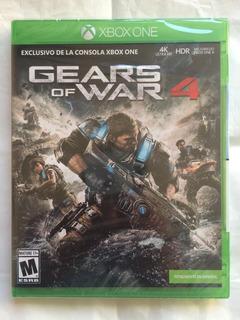 Gears Of War 4 4k Xbox One Nuevo Sellado Envíos Todo Chile