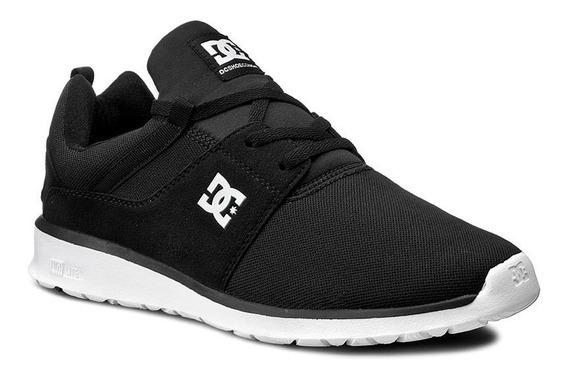 Tenis Dc Shoes Heathrow Negro/blanco Adys700071