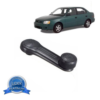 Manivela Do Vidro Hyundai Accent 95 96 97 98 99