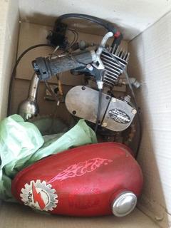 Kit Motor 48cc Para Moto Bici