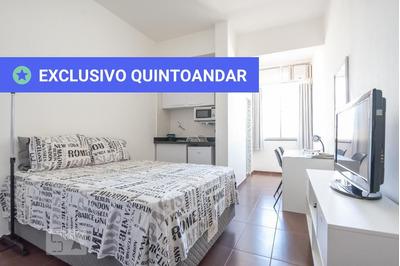 Studio No 10º Andar Mobiliado Com 1 Dormitório - Id: 892870303 - 170303