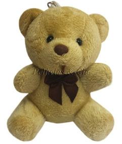Mini Chaveiro Urso Marrom - Unidade