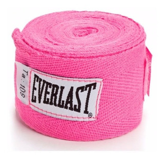 Original 2 Vendas Everlast Rosa Para Box Proteccion Mano Algodon Gym Tenis.shop