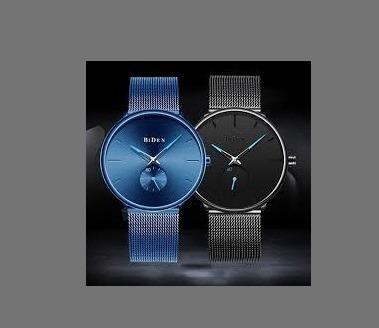 Relógio De Pulso Unissex Funcional Biden 0124