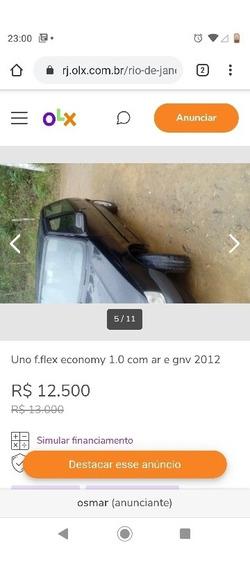 Fiat Uno Mille Economy Fire Flex