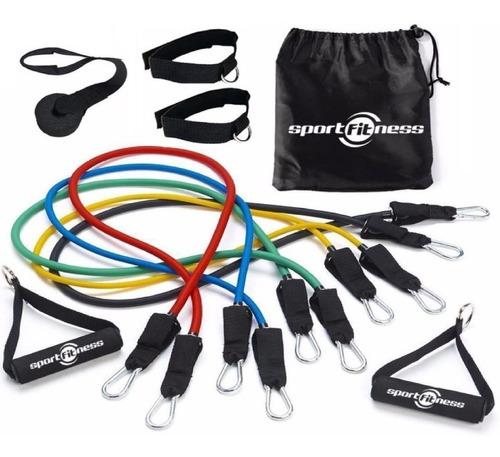 Theratubo 100lbs Sport Fitness Soporte Puerta + Envio Gratis