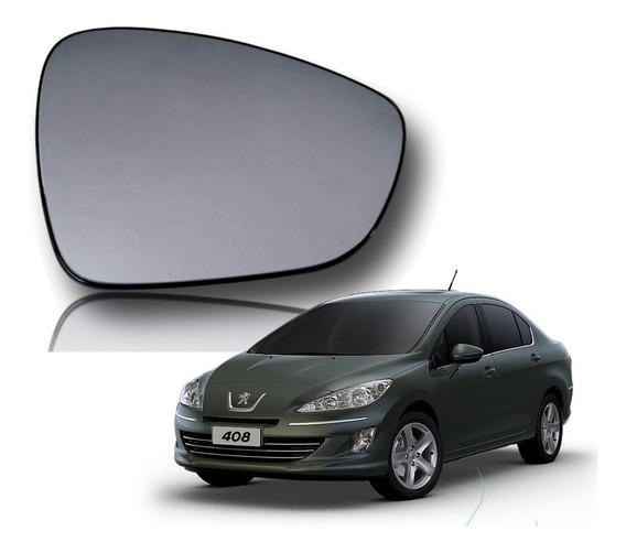 Vidro Lente Espelho Retrovisor Peugeot 408 12 13 14 Orig Dir