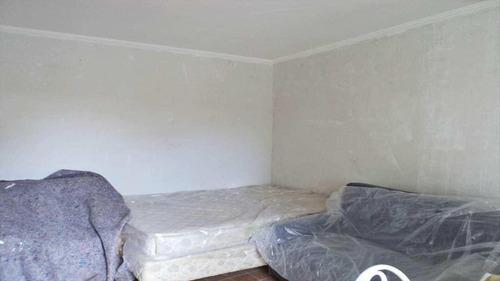 Imagem 1 de 8 de Kitnet Com 1 Dormitório À Venda, 32 M² Por R$ 105.000,00 - Vila Guilhermina - Praia Grande/sp - Kn0026