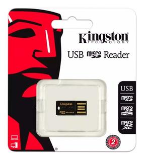 Lector De Memorias Micro Sd Kingston Usb 2.0 Fcr-mrg2 /v /vc