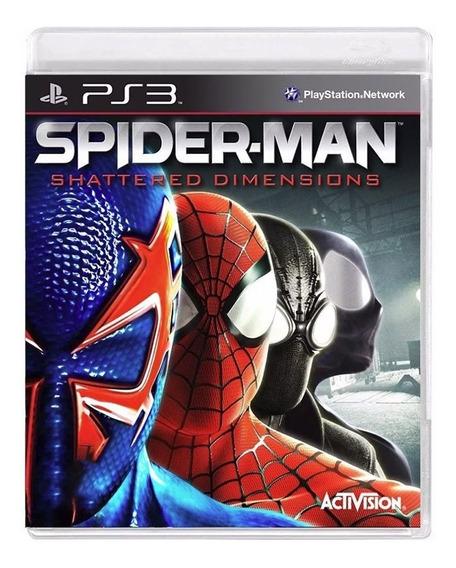 Spider Man Shattered Dimensions - Ps3 - Original - Usado
