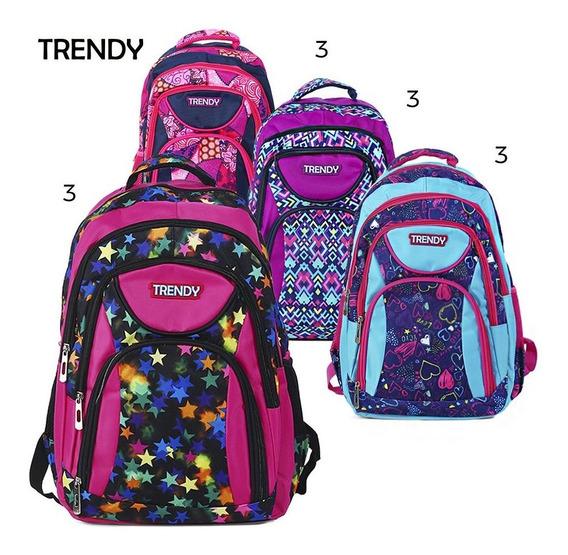 Mochilas Escolares Trendy Cod.8102 By Ibbags