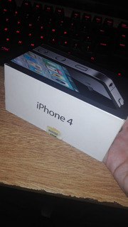 iPhone 4 Black 32gb Pantalla Rota