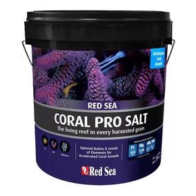 Red Sea Coral Pro Salt 22kg Sal Para Aquário Marinho P/ 660l