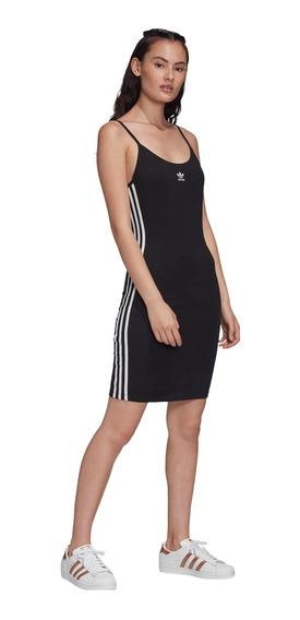 Vestido adidas Originals Spaghetti Strap -fm3270- Trip Store