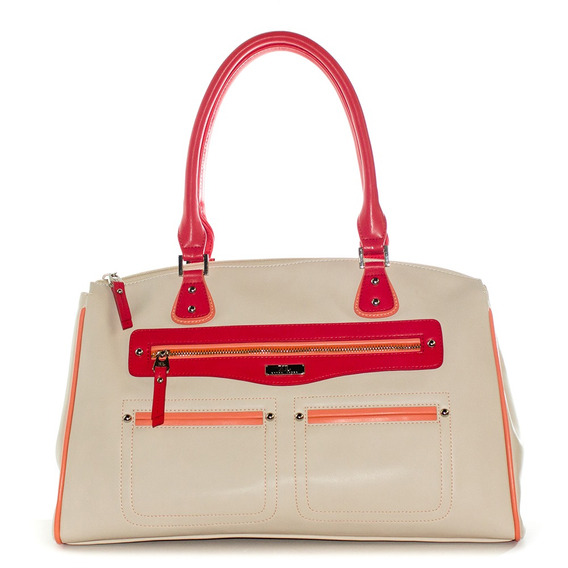 Bright Tote Rojo Xl Extra Large