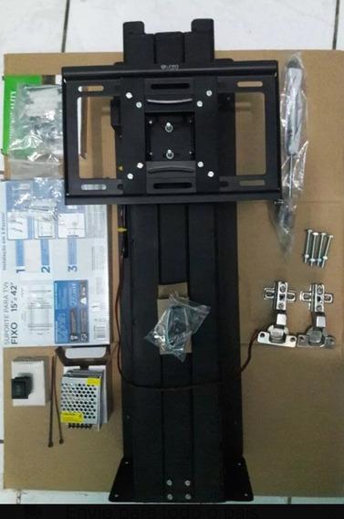Elevador Pra Tv (lift) Completo»controle E Acessório