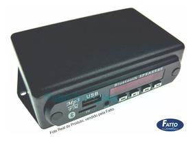 Montado Decoder Leitor Mp3 Usb Caixa Ativa Bluetooth
