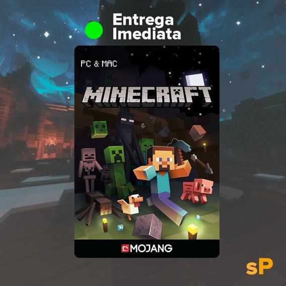 Minecraft Jogo Original Pc Full Acesso - Mais Barato!
