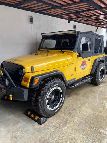 Imagen 1 de 14 de Jeep Wrangler 2000 Se 5vel Techo Lona Mt