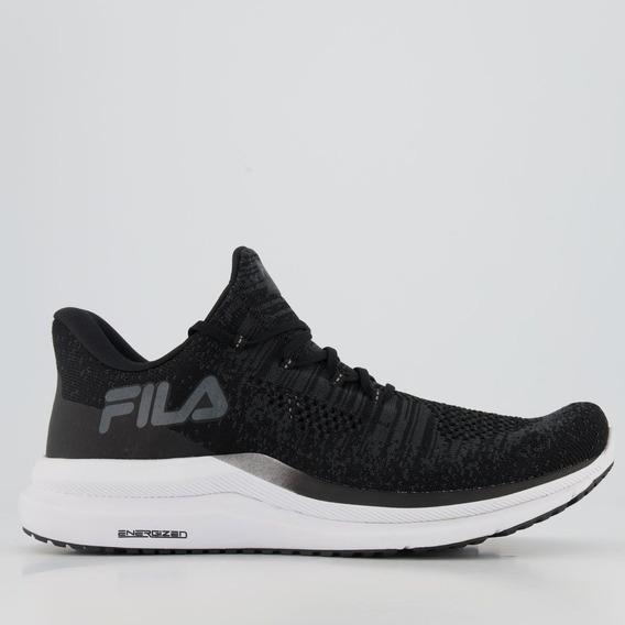 Tênis Fila Racer Knit Energized Preto