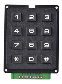 Teclado Matricial 4x3 12 Teclas Arduino Pic 1 Unidade