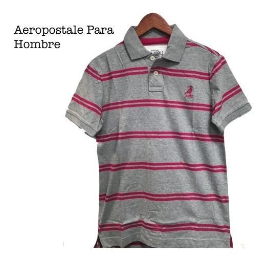 Playera Aeropostale Para Caballero Tipo Polo Original Xtr C