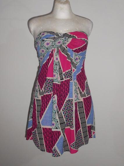 Forever 21 Collection Moderno Vestido Strapless Fiuxa T-s