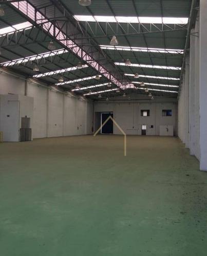 Imagem 1 de 3 de Galpão Comercial Para Locação, Loteamento Industrial Salto Grande I, Americana - Ga0017. - Ga0017