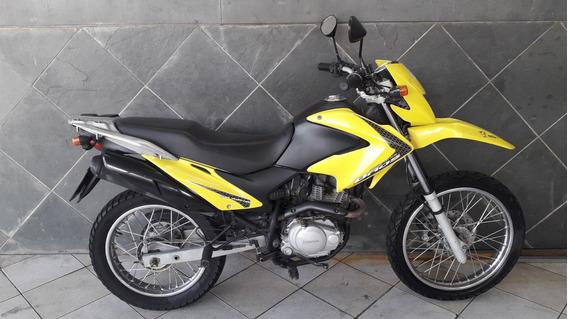 Honda Nxr 150 Bros Esd Amarela 2009