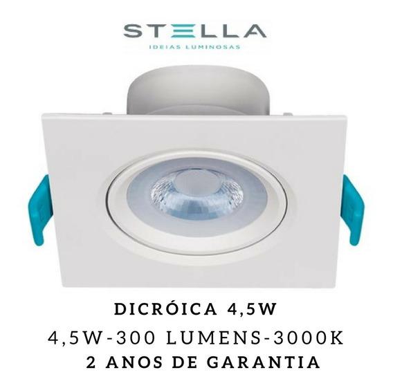 10x Embutidos Led Easy Stella Dicróica 4,5w Sth7915/30 Mr16