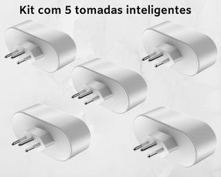 Kit Com 5 Tomandas Inteligentes- Alexa E Google Home