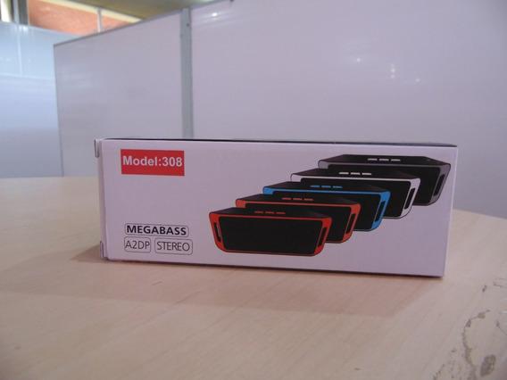 Caixa De Som Megabass Stereo Subwoofer Bluetooth