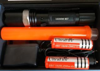 Lanterna Swat 8500 Lumens Cree Q5 Led 2 Baterias Promoção
