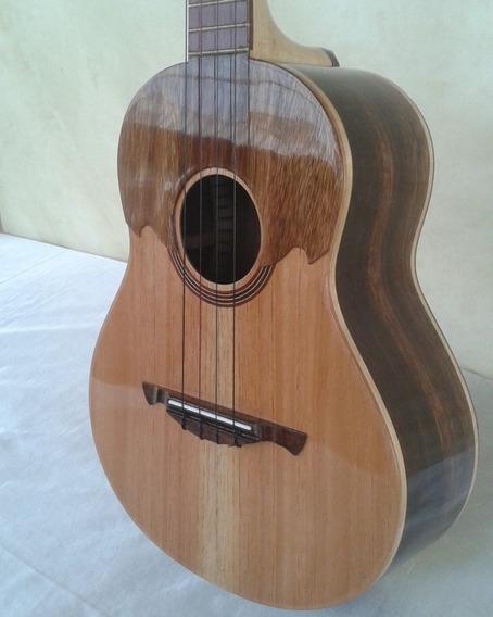 Cuatro Electroacústico. Mod. 02. Luthier Andrés Rodríguez