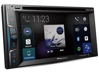 Autoestereo Pioneer Avh-1550nex Carplay Waze Dvd Mirror Spot
