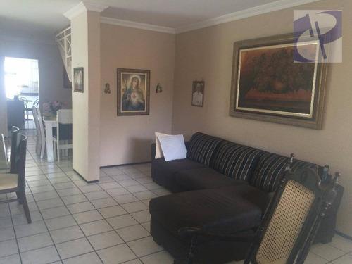 Casa Com 5 Dormitórios À Venda, 174 M² Por R$ 599.000,00 - Lago Jacarey - Fortaleza/ce - Ca2144