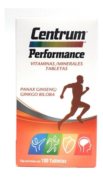 Multivitaminico Centrum Performance 100 Tabletas Envio Full