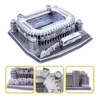 Rompecabezas 3d Estadio Santiago Bernabeu Real Madrid Nuevo
