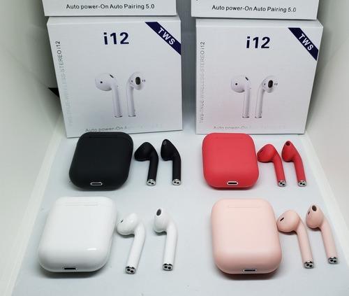 Audifonos Inalambrico I12 Tws Bluetooth Tactil True Wireless