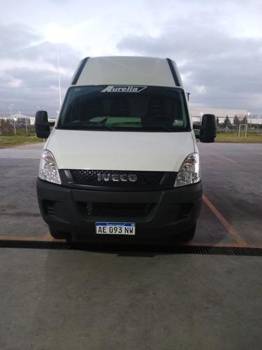 Imagen 1 de 11 de Iveco Daily Furgón 12m3  Chasis 55c17 3300