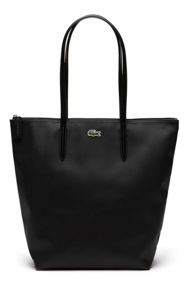 Bolso Lacoste L.12.12 Shopping Bag Vertical Negro Nf1890po