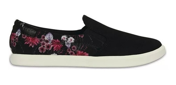 Panchas Mujer Crocs Con Flores Citilane Sneaker