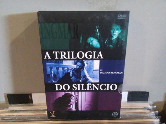 Trilogia Do Silêncio 03 Dvds Ingmar Bergman Lacrado - Filme