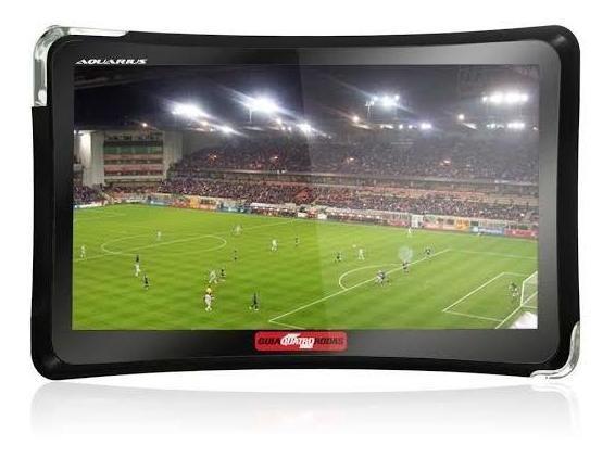 Gps Automotivo Quatro Rodas 4.3 Slim Com Tv