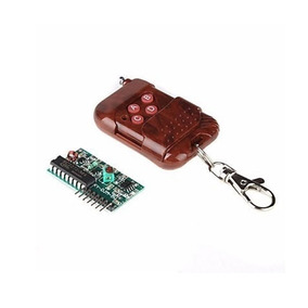 Kit Controle Remoto Rf + Receptor Rf
