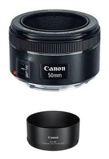 Lente Canon Ef 50mm F/1.8 Stm Fijo New 12 Cuotas Sin Interes
