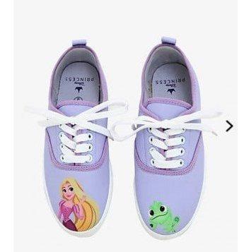 Tenis Rapunzel Disney Princesas Exclusivos Hottopic