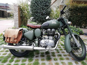 Royal Enfield 350cc Battle Green (verde)