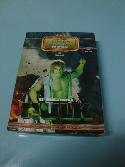 Coleção Super Heróis Do Cinema O Incrível Hulk 2 Dvds-1978