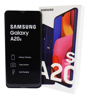 Telefono Samsung A20s Andriod Liberado Forro